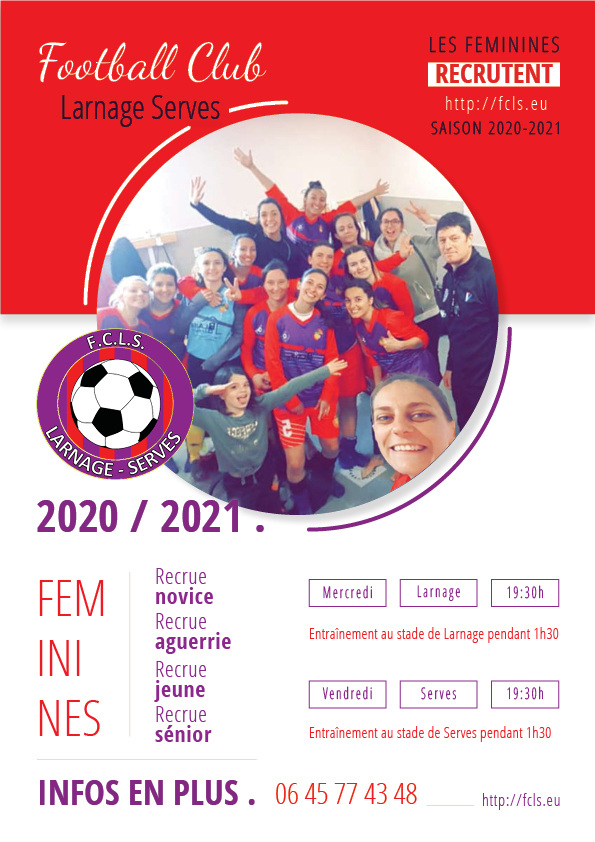 Affiche recrue 2020